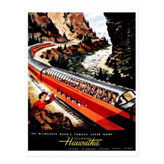 Cartão Postal Olímpico Hiawatha