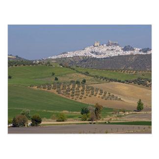 Cartão Postal Olvera, a Andaluzia, espanha