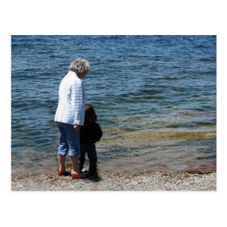 Cartão Postal Oma e Devin