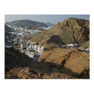 Cartão Postal Oman, Muscat, Ruwi/Al Hamriyah. Vista de Ruwi/
