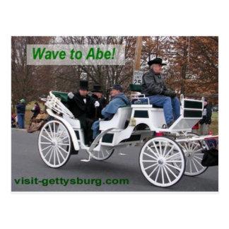 Cartão Postal Onda a Abe Lincoln