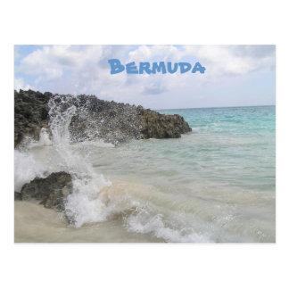 Cartão Postal Onda de Bermuda