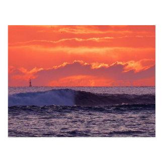 Cartão Postal Ondas tropicais