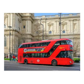 Cartão Postal Ônibus Londres Reino Unido de Routemaster
