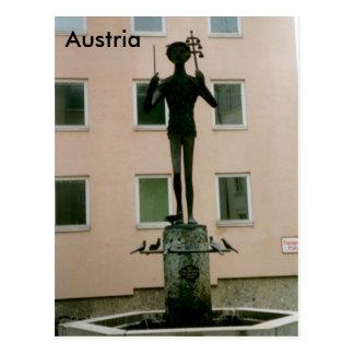 Cartão Postal Ópera de Papageno a flauta mágica, Salzburg,