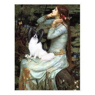Cartão Postal Ophelia - Papillon 1