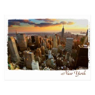 Cartão Postal Opinião aérea de New York
