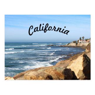 Cartão Postal Opinião bonita de Califórnia  