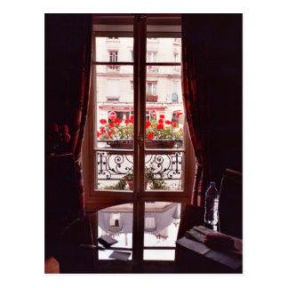 Cartão Postal Opinião da janela de Paris