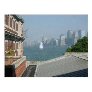 Cartão Postal Opinião da Nova Iorque da baía