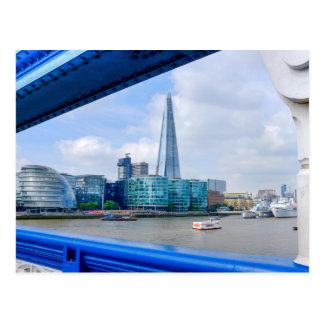 Cartão Postal Opinião da ponte da torre, Londres Reino Unido