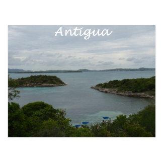 Cartão Postal Opinião de Antígua