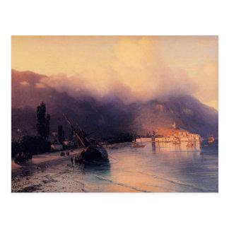 Cartão Postal Opinião de Ivan Aivazovsky- de Yalta