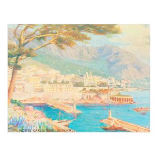 Cartão Postal Opinião de Monte - de Carlo