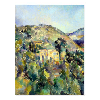 Cartão Postal Opinião de Paul Cezanne o Domaine St Joseph