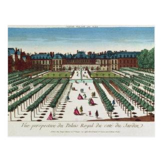 Cartão Postal Opinião de perspectiva do Palais Royal