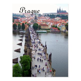 Cartão Postal Opinião de Praga