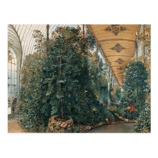 Cartão Postal Opinião de Rudolf von Alt Interior da casa de