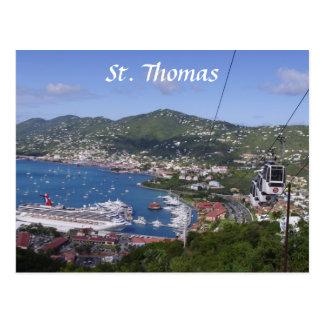 Cartão Postal Opinião de St Thomas