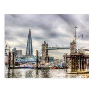Cartão Postal Opinião de Tamisa do rio
