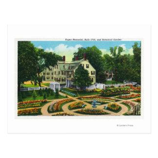 Cartão Postal Opinião do memorial das cordas e de jardins
