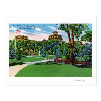 Cartão Postal Opinião do parque do congresso do hotel grande da