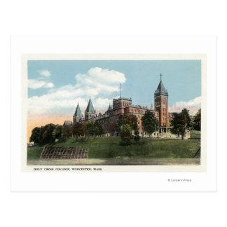 Cartão Postal Opinião do terreno da faculdade transversal