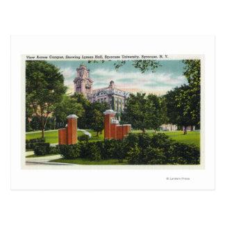 Cartão Postal Opinião do terreno de Siracusa U que mostra Lyman