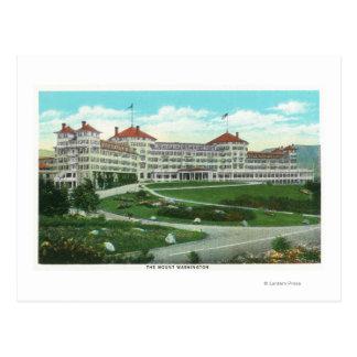 Cartão Postal Opinião exterior do Fim-acima do hotel do Mt.