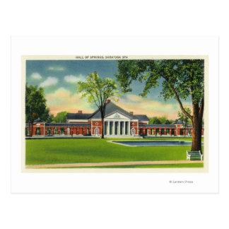 Cartão Postal Opinião exterior o Salão dos primaveras # 2