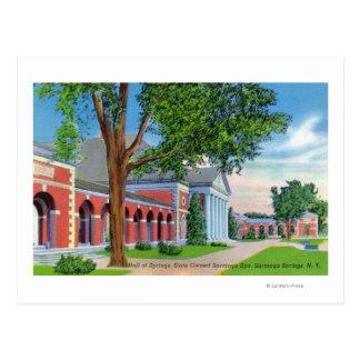 Cartão Postal Opinião exterior Salão dos primaveras e das terras