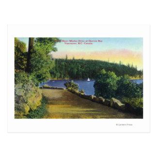 Cartão Postal Opinião marinha da movimentação da costa norte da