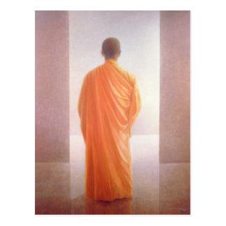 Cartão Postal Opinião nova Vietnam da parte traseira da monge