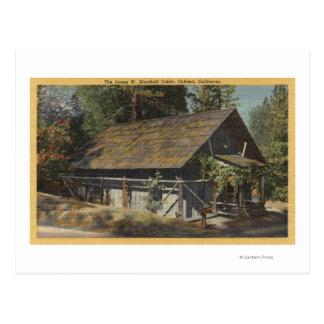 Cartão Postal Opinião o James W. Marshall Cabine