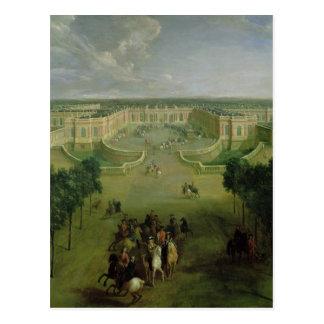Cartão Postal Opinião o Trianon grande, 1722