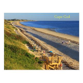 Cartão Postal Opinião oca da praia da baía do monte do milho de