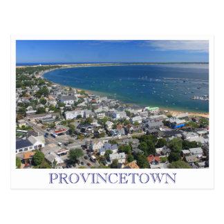 Cartão Postal Opinião Provincetown Cape Cod do monumento do