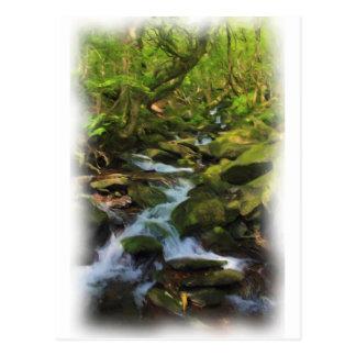 Cartão Postal Opiniões de Snowdonia