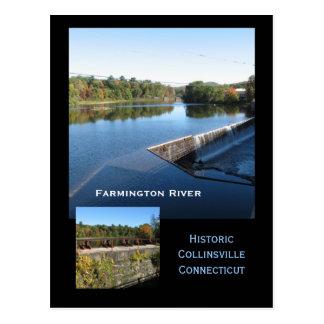 Cartão Postal Opiniões do rio de Farmington