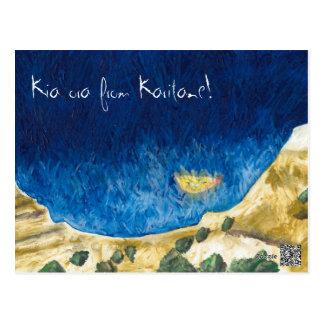 Cartão Postal Ora de Kia de Karitane!