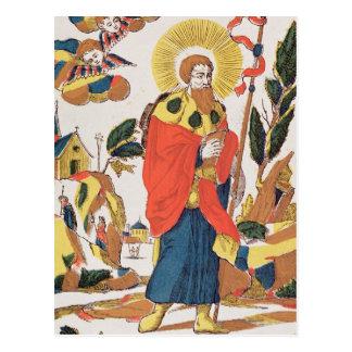 Cartão Postal Oração devocional a St James
