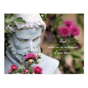 Cartão Postal Oração do santo Francisco de Assis daf9d7a245