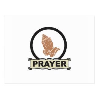 Cartão Postal Oração simples