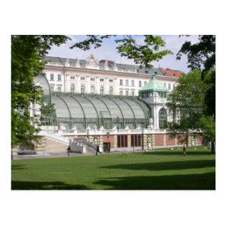 Cartão Postal Orangery Burggarten, Viena Áustria