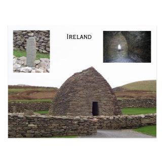 Cartão Postal Oratória de Gallarus, Kerry, Ireland
