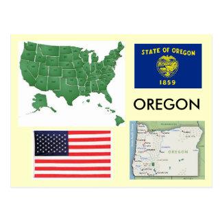 Cartão Postal Oregon, EUA