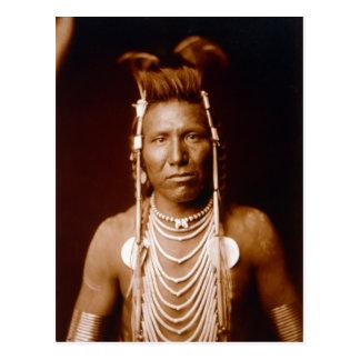 Cartão Postal Orelha longa de Ben (nativo americano)