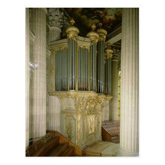 Cartão Postal Órgão na capela