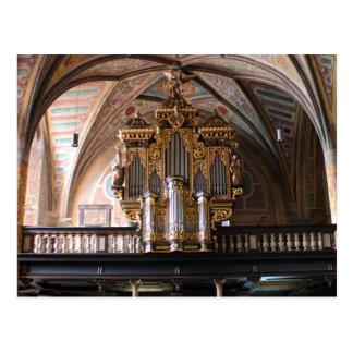 Cartão Postal Orgel Pfarrkirche St.Wolfgang am Wolfgangsee