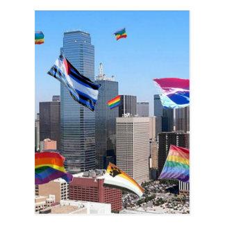 Cartão Postal Orgulho de Dallas